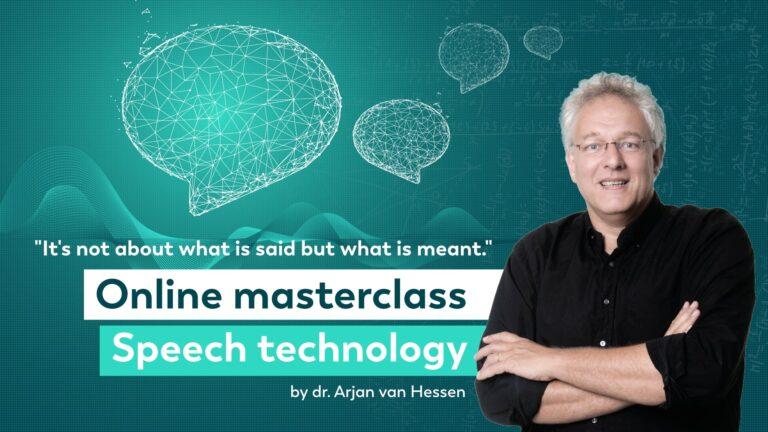 Online masterclass speech technology